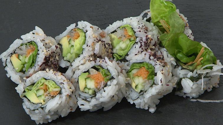 Recetas japonesas: Maki vegetariano
