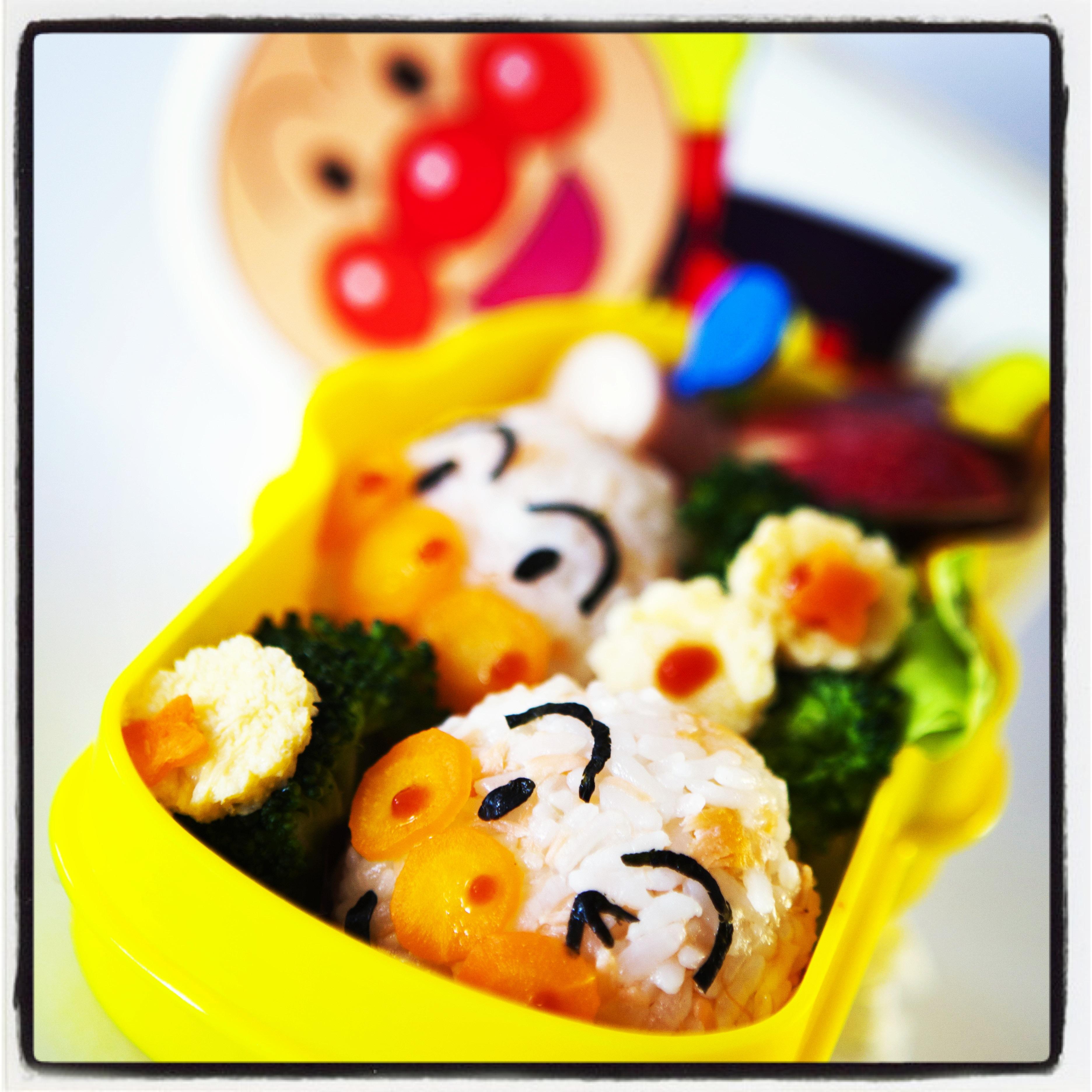 Recetas de cocina japonesa: Como preparar Obento de Anpanman | Taka Sasaki