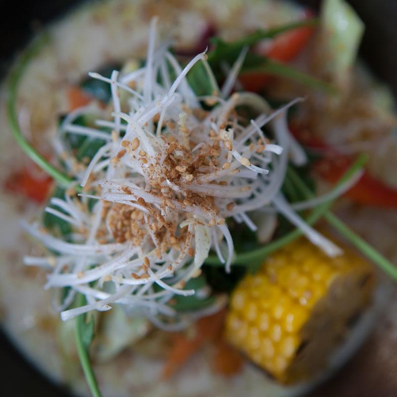 Recetas japonesas: Ramen vegetariano |Taka Sasaki